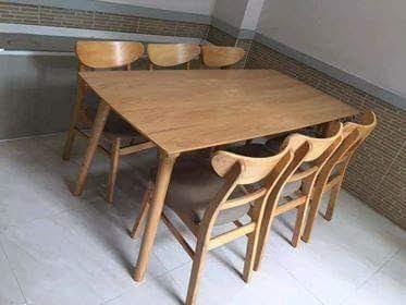 Bàn ghế ăn Mango 1m6 (6 ghế)