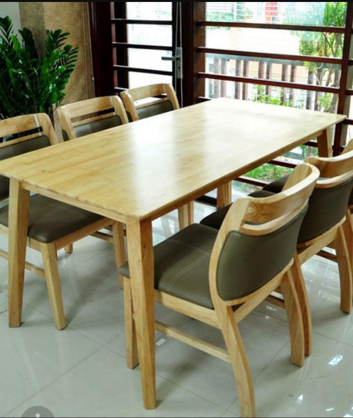 Bàn ghế ăn Sala 1m6 (6 ghế)