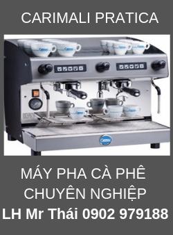 Máy Pha Cafe Chuyên Nghiệp CARIMALI PRATICA 2 group.
