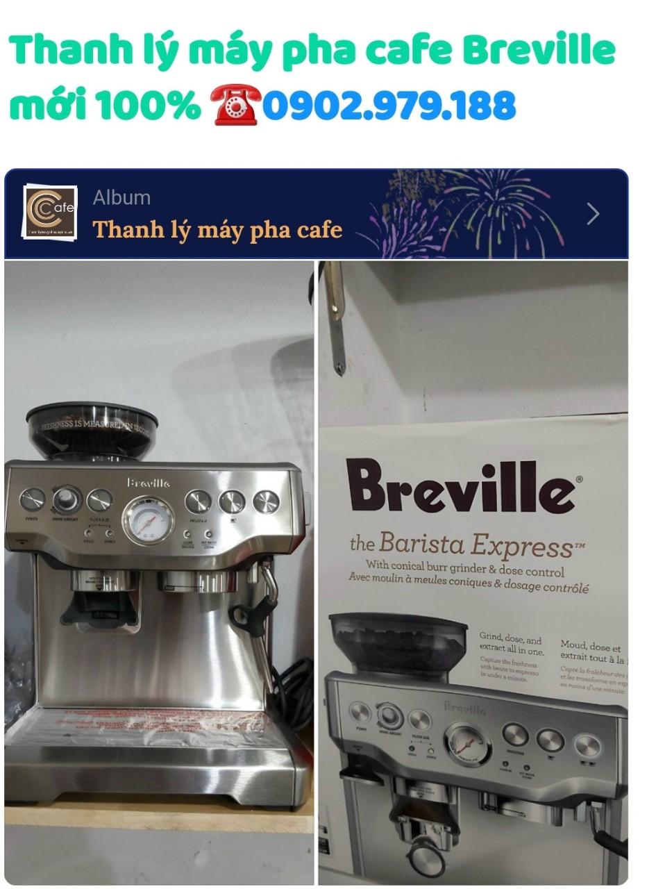 [Thanh lý Máy Mới 100% ] Máy pha cà phê Breville 870XL thanh lý còn nguyên thùng chưa qua sử dụng.