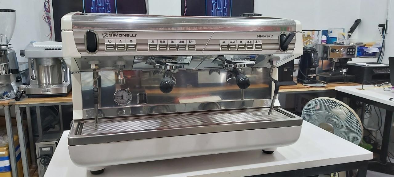 Bán máy pha cafe đã qua sử dụng Nuova Simonelli Appia II thanh lý [MỚI 95% ĐẸP].