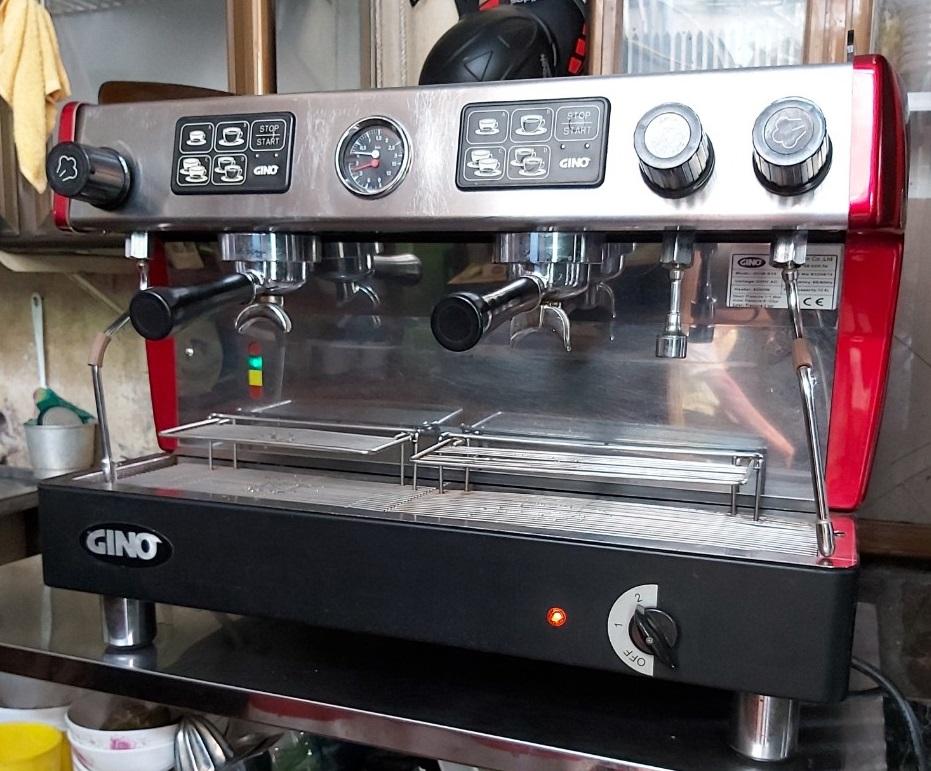 [GIÁ RẺ 50%] Cần bán máy pha cà phê cũ Gino 2 group thanh lý giá rẻ tại HCM.