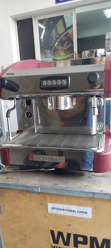 Địa chỉ bán máy pha cafe cũ: Máy pha cafe Expobar Elegance thanh lý giá rẻ 40%