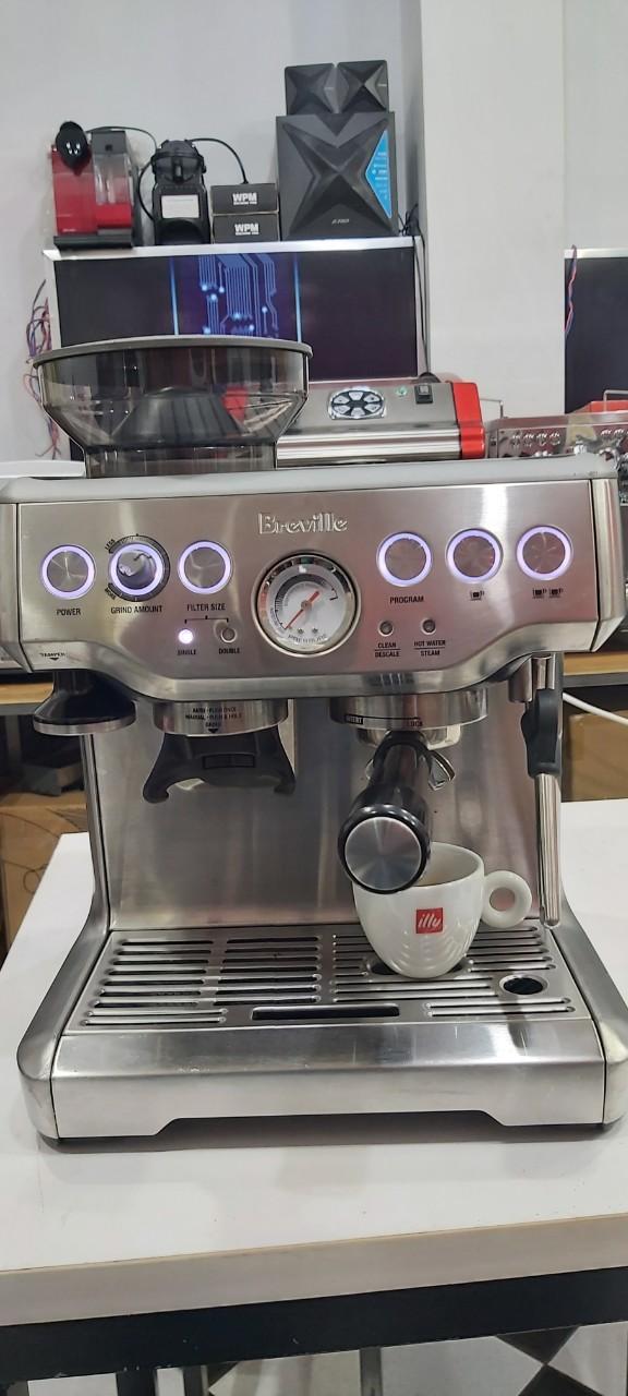 Máy pha cà phê Breville 870XL thanh lý giá rẻ chỉ 12.6tr/máy