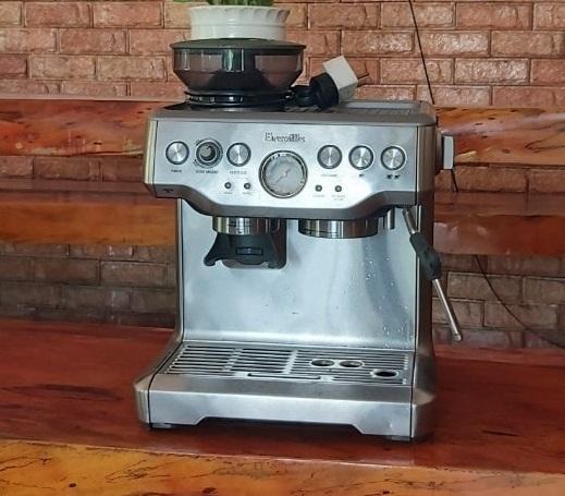 Máy pha cà phê Breville 870XL thanh lý[GIÁ RẺ 12.6TR].