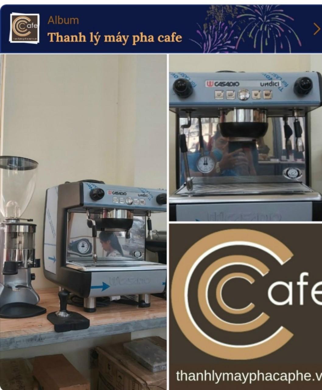Máy pha cà phê Casadio Dieci A1 cũ thanh lý nguyên bộ.