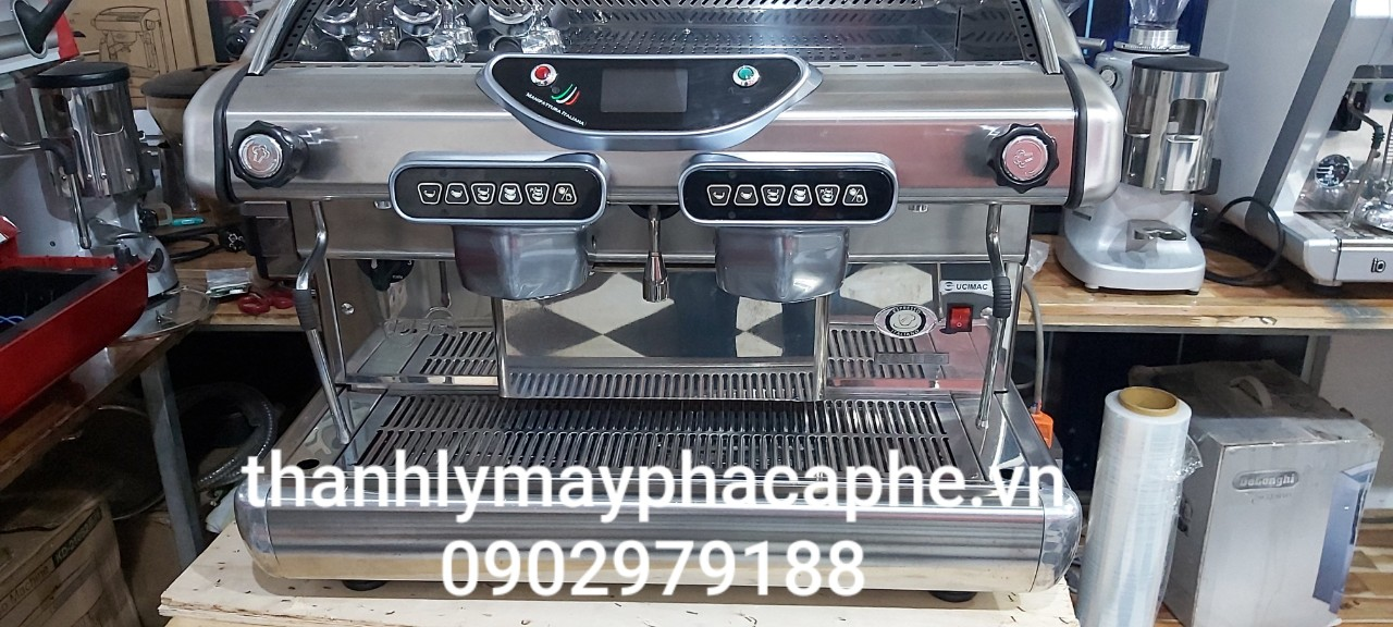 Thanh lý máy pha cà phê chuyên nghiệpBFC Galileo 2 group.