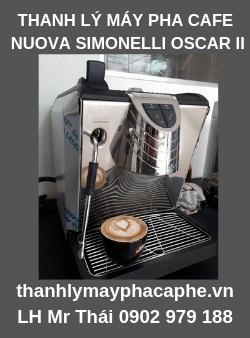 Máy pha cà phê Nuova Simonelli cũ Oscar II thanh lý-Thanh lý máy pha cafe Quốc Tế.