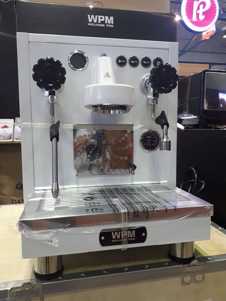 Máy pha cà phê Welhome KD 410-WPM