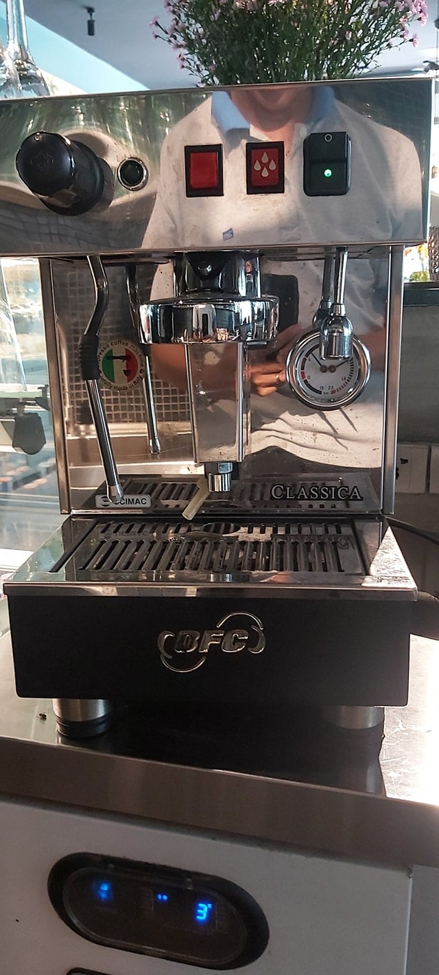 Thanh lý máy pha cafe espresso BFC 1 group nhập khẩu Ý.