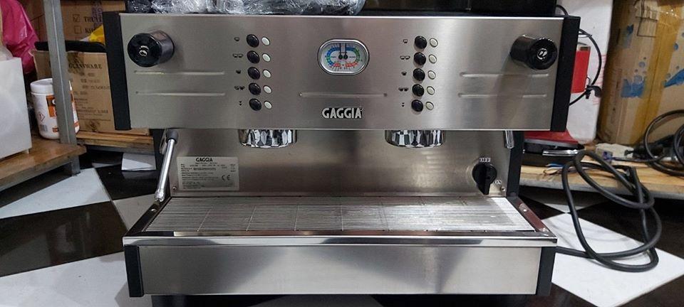 Thanh lý máy pha cafe ÝGaggia LC/D 2 group đã qua sử dụng còn mới 95%.