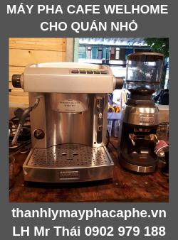Máy Pha Cafe Cho Quán Welhome 210 - WPM Bền Rẻ - Thanh lý máy pha cafe Quốc Tế