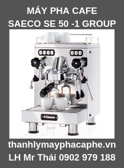 Máy Pha Cafe Espresso SAECO SE 50.