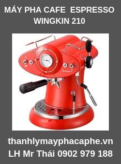 Máy pha cà phê Espresso Wingkin 210 - Thanh lý máy pha cafe Quốc Tế.