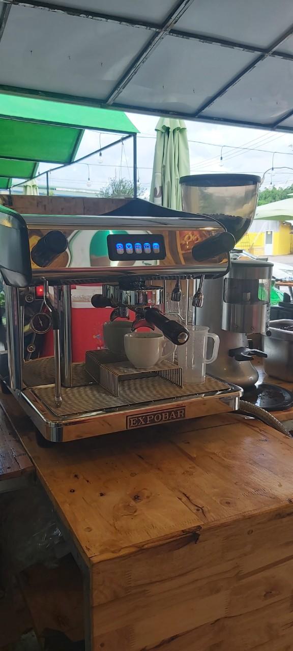 Thanh lý máy pha cafe espresso Expobar - Bảo hành 12th - Lắp ráp tận nơi.