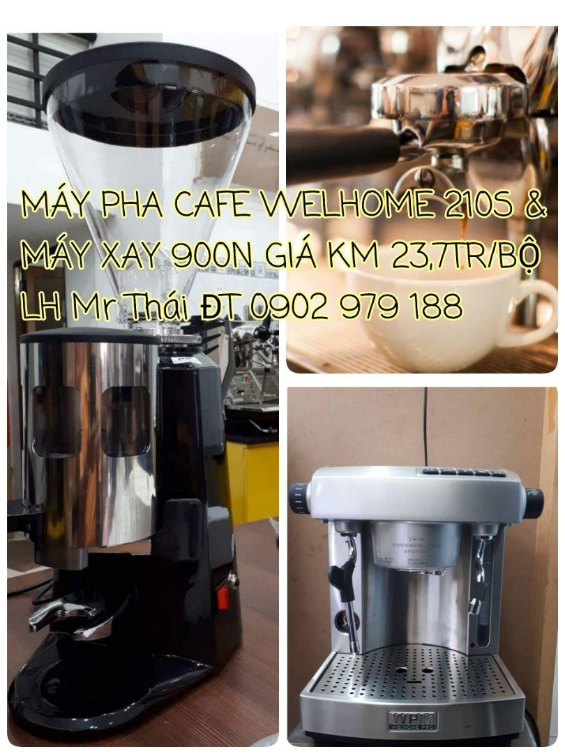 Máy Pha Cafe Cho Quán Nhỏ - WELHOME - 900N.
