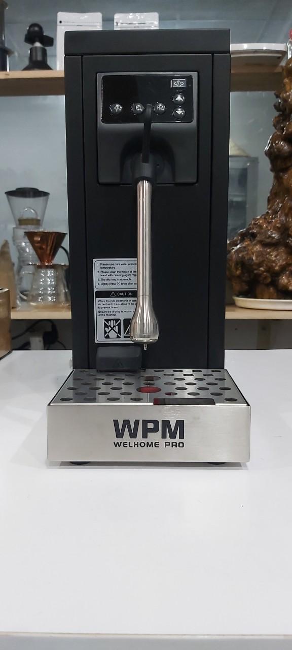 Thanh lý máy đánh sữa tự động Welhome hàng trưng bày mới 99%.