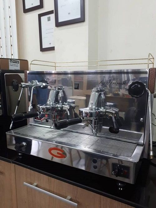 Bán Máy Pha Cafe Italia Cũ GRIMAC ZOLA 2 GROUP (Ý).