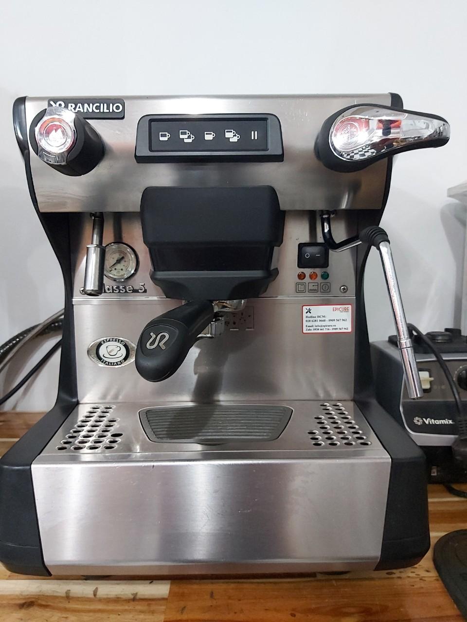 Thanh Lý Máy pha cà phê Espresso Rancilio cũ Classe 5 USB 1 Group