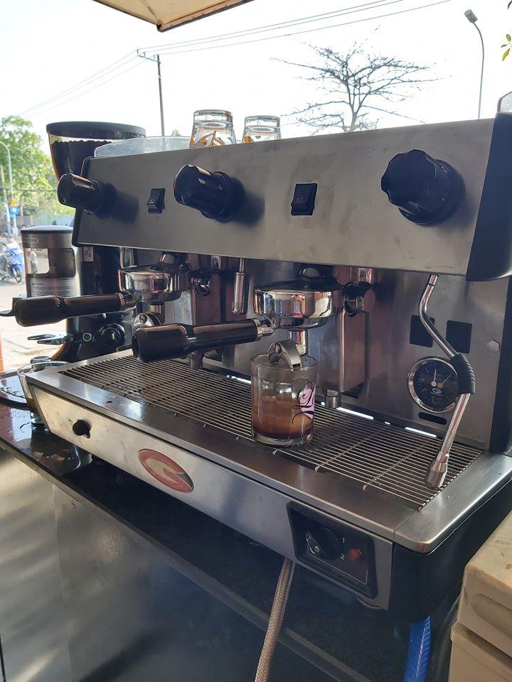 Thanh lý máy pha cà phê ý Grimac 2 group giá rẻ.