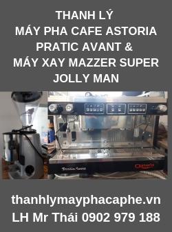 Thanh Lý Nguyên BộMáy Pha Cafe Astoria Pratic Avant 2 group & Máy Xay Mazzer Super Jolly Man.