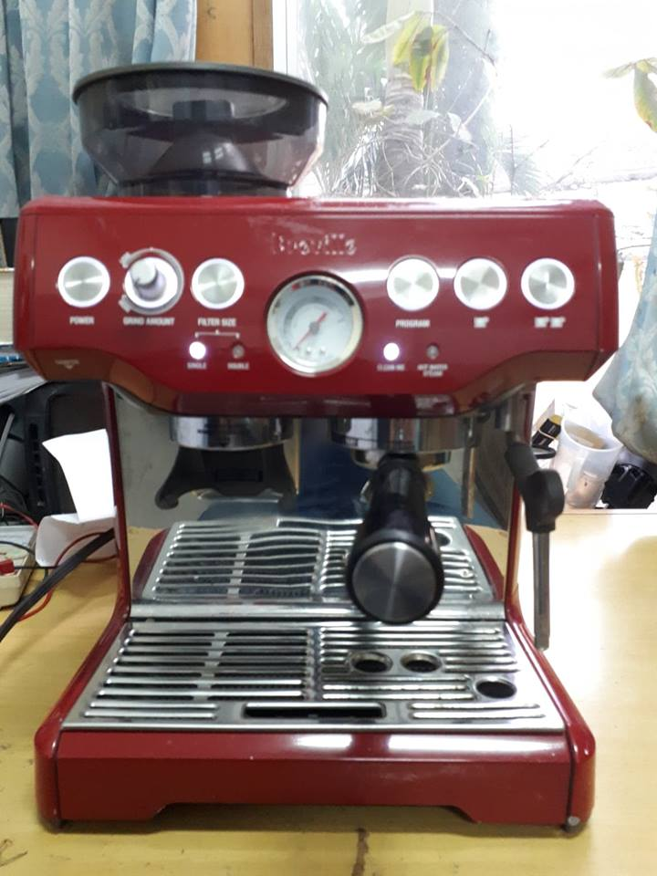 Thanh Lý Máy Pha Cafe Espresso Breville 870XL.