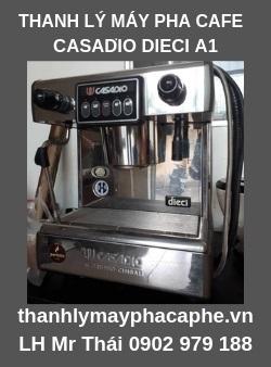 Thanh Lý Máy Pha Cafe Casadio Dieci A1-Thanh lý máy pha cafe Quốc Tế.