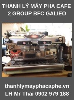 Thanh Lý Máy Pha Cafe Chuyên Nghiệp BFC GALILEO(2Group)-Thanh lý máy pha cafe Quốc Tế.