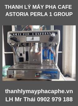 Thanh lý máy pha cafe Astoria Perla 1 group.