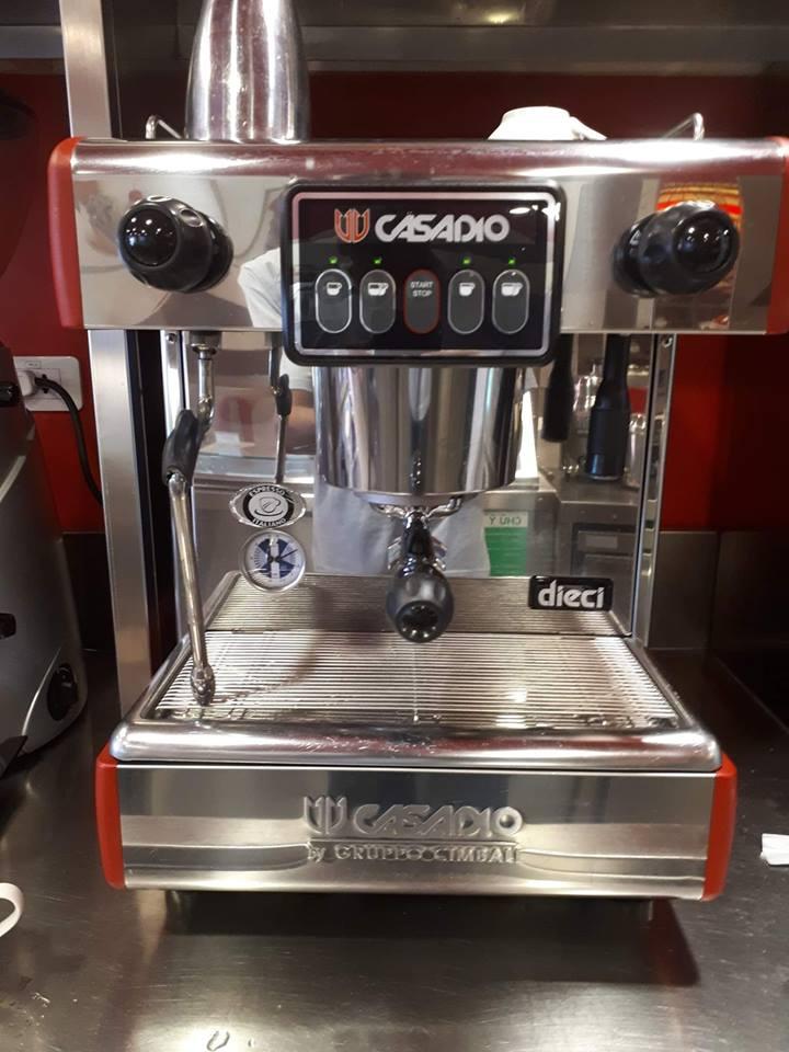Máy pha cà phê Casadio Dieci A1 cũ thanh lý.