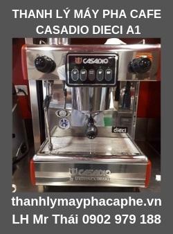 Máy pha cà phê Casadio Dieci A1 Cũ Thanh Lý - Thanh Lý Máy Pha Cà Phê Quốc Tế.