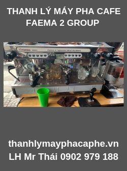 Thanh Lý Nguyên Bộ Máy Pha Cafe EspressoFAEMA.