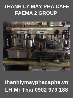 Thanh Lý Máy Pha Cafe FAEMA giá rẻ.