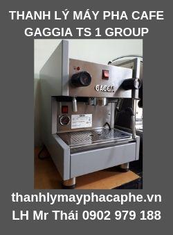 Cần Thanh Lý Máy Pha Cà Phê GAGGIA TS 1 Group