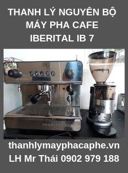 Thanh Lý Nguyên BộMáy Pha Cafe Capuchino IBERITAL IB7 &máy xay.