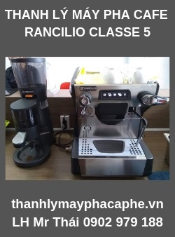 Thanh Lý Máy Pha CafeRancilio Classe 5 USB1 Group -Thanh lý máy pha cafe Quốc Tế.