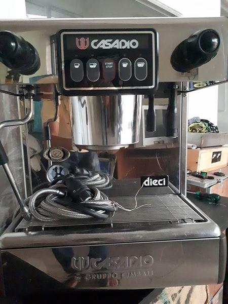 Thanh Lý Máy Pha Cafe Casadio Dieci A1.