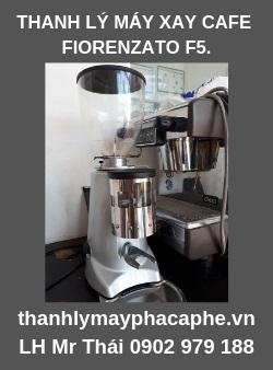 Thanh Lý Máy Xay CafeFiorenzato F5 còn mới 95%-Thanh Lý Máy Pha Cafe Quốc Tế.