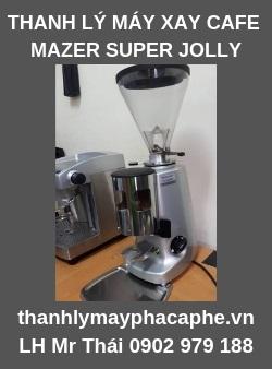 Thanh lý máy xay cafe Mazzer Super Jolly- Thanh lý máy pha cafe Quốc Tế