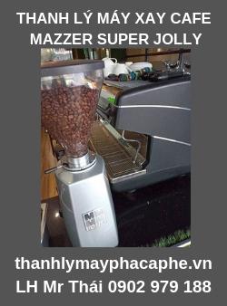 Thanh Lý Máy xay cafe Mazzer Super Jolly mới 95% giá rẻ