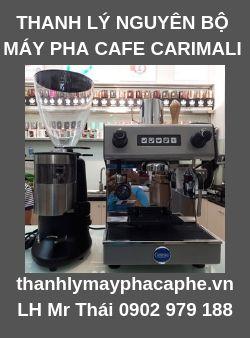 Thanh Lýmáy pha espresso cũ CARIMALI & máy xay cafe(Ý).