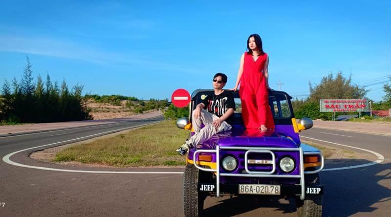 Tour xe Jeep tham quan Lâu Đài Vang Sealink