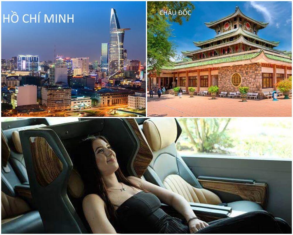 Vé xe Limousine từ tp.Hồ Chí Minh,Mũi Né,Châu Đốc, Long Xuyên,Đà Lạt,Nha Trang,Phan Thiết,