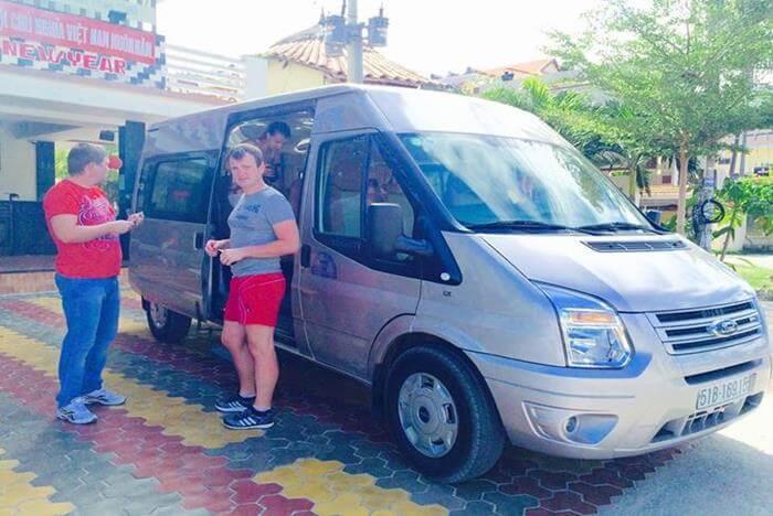Thuê Xe 16 Chỗ Giá Rẻ Nhất tại Việt Nam - My Tam Travel