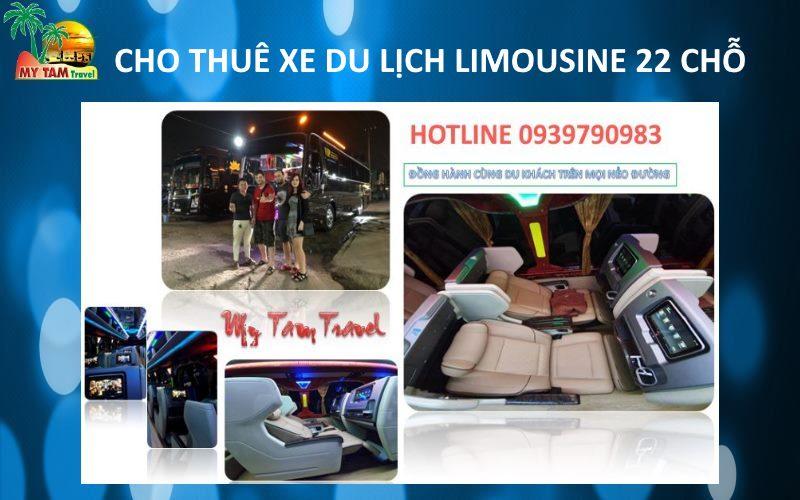 Thuê Xe Limousine 9-10-11-12-15-16-18 chỗ giá tốt - My Tam Travel