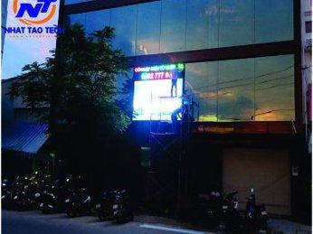 Màn hình LED P10 ngoài trời tại Công ty Á Châu