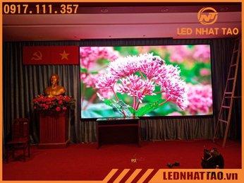 Màn hình LED P2.5 hội trường Cty Môi Trường Đô Thị TP HCM