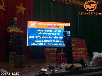 Màn hình LED P2.5 tại 8 huyện