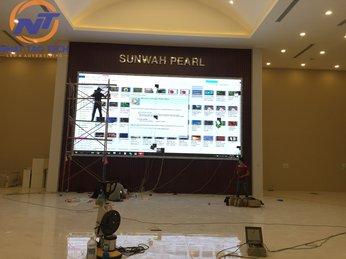 Màn hình LED P3 tại Tập đoàn Sunwah – HongKong