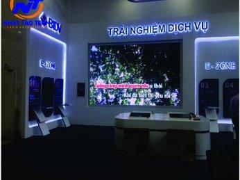 Màn hình LED P4 trường Đại Học Ngân Hàng TP Hồ Chí Minh